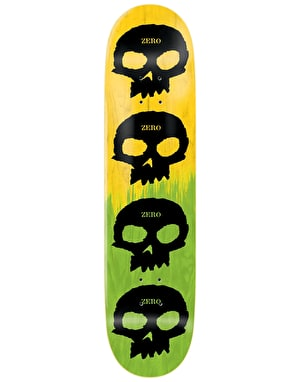 Zero Multi Skull 2-Tone Team Deck - 8.25