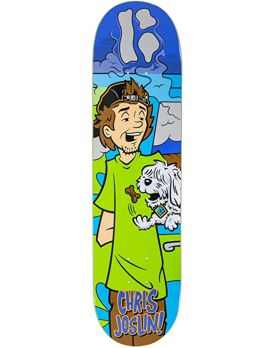 Plan B Joslin Coco Snacks Skateboard Deck - 8""