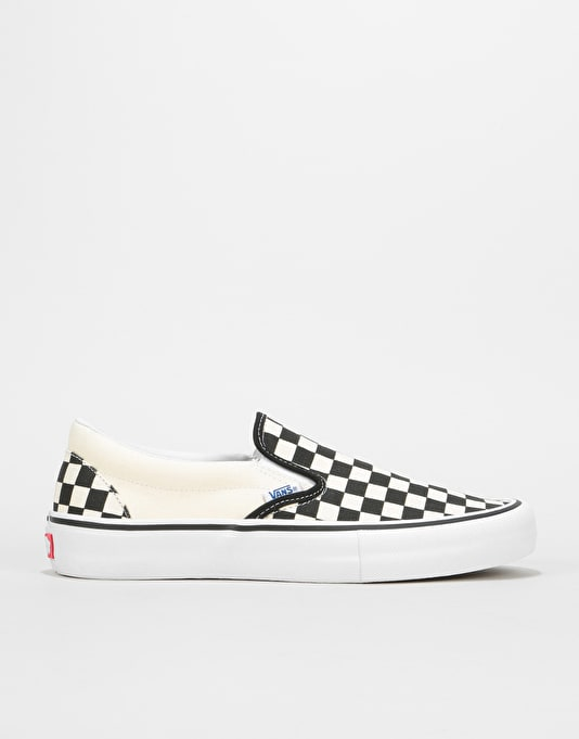 Vans Slip on Pro Slip on Shoes UK 12 Checkerboard Black White cTHRyrZ