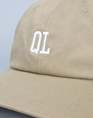 The Quiet Life Micro QL Dad Cap - Khaki