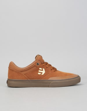 Etnies Marana Vulc Skate Shoes - Brown/Gum