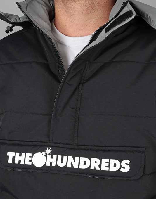 The Hundreds Daily Puffer Anorak Jacket - Black