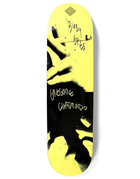The National Skateboard Co Cuadrado x Catalogue Skateboard Deck - 8.5""