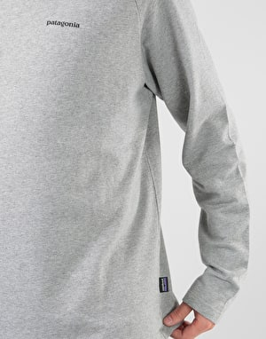 Patagonia P-6 Logo Lightweight Crew Sweatshirt - Feather Grey