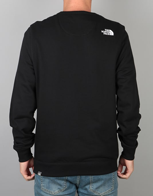 The North Face Street Fleece Sweatshirt - TNF Black/TNF White