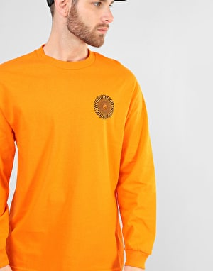 Spitfire Covert Classic L/S T-Shirt - Orange/Black