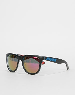 Santa Cruz Screaming Insider Sunglasses - Black/Blue