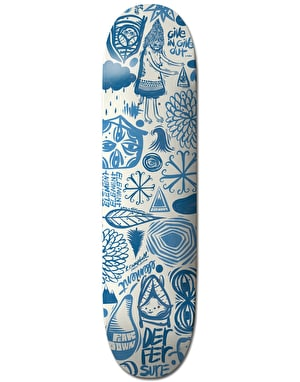 Element x Thomas Campbell Everything Indigo Collection Skate Deck - 8