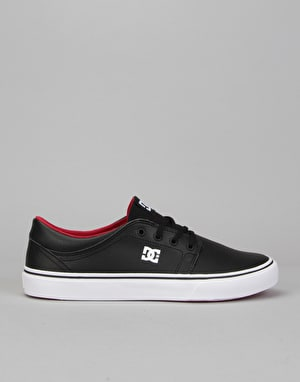 DC Trase Skate Shoes - Black/Red/White