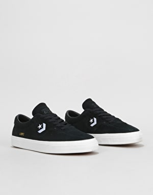 Converse Louie Lopez Pro Ox Skate Shoes - Black/Black/White