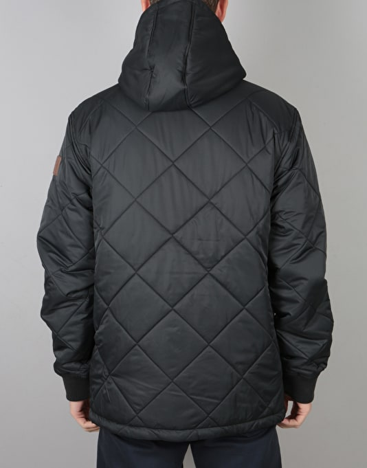 DC Quilted Jacket - Black