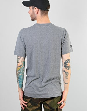Girl x Sub Pop Shelf T-Shirt - Heather Grey