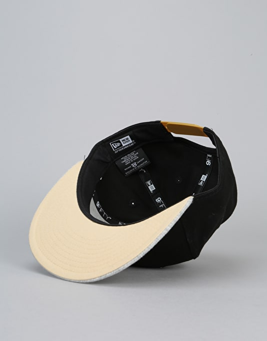 New Era 9Fifty New Orleans Saints Team Snapback Cap - Black/Grey