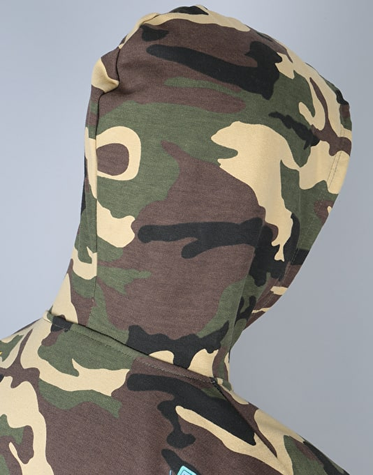 Grizzly x Adventure Time Life Burrito Pullover Hoodie - Camo