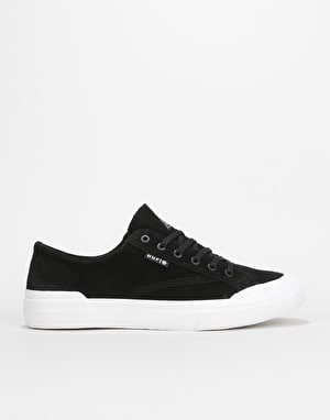 HUF Classic Lo Skate Shoes - Black/White ...