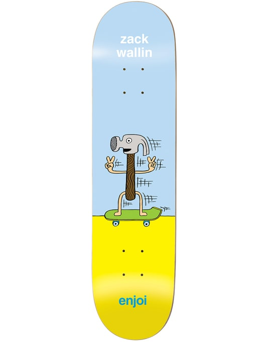 Enjoi Wallin Dingleballdom Skateboard Deck - 8""