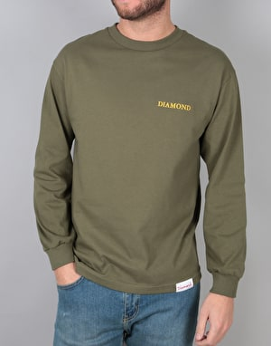 Diamond Supply Co. Offerings L/S T-Shirt - Military Green