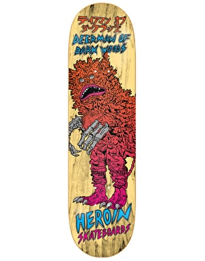 Heroin Deer Man of Dark Woods Kaiju Pro Deck - 8.625