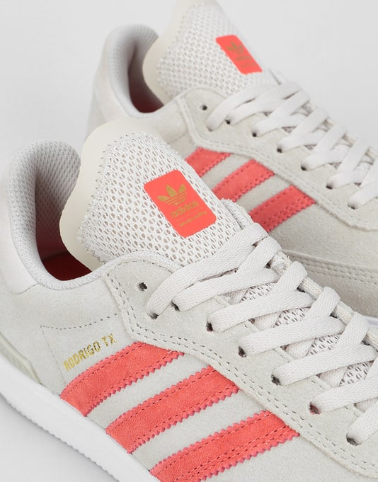 Adidas Samba ADV Womens Trainers - Clear Brown/Trace Scarlet/White