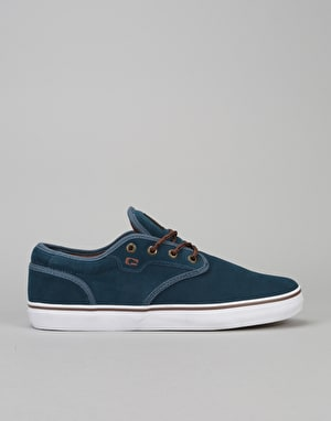 Globe Motley Skate Shoes - Navy/Brown