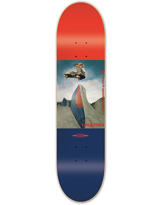 Stereo Hunt Ad Skateboard Deck - 8.375""