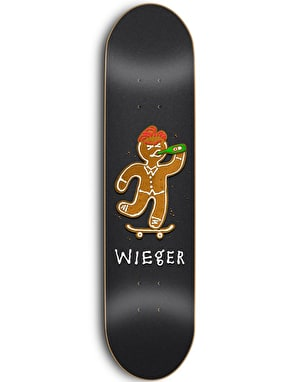 Skate Mental Wieger Ginger Bread Skateboard Deck - 8.25