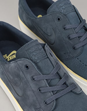 Nike SB Zoom Stefan Janoski HT Skate Shoes - Thunder Blue/Lemon Wash
