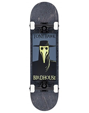 Birdhouse Plague Doctor Stage 3 Complete Skateboard - 8