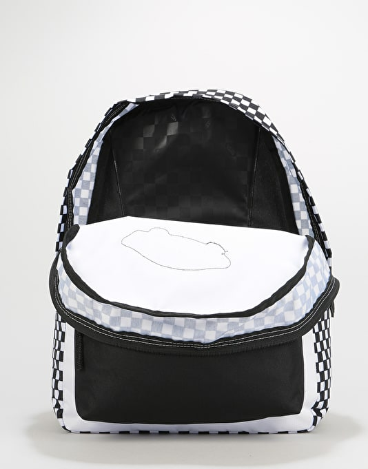 Vans Realm Backpack - Black/White Checkerboard