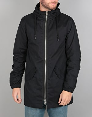 Bellfield Garbo Parka Jacket - Black