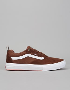 Vans Kyle Walker Pro Skate Shoes - Emperador/White