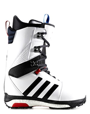 Adidas Tactical ADV Snowboard Boots - White/Core Black/Scarlet