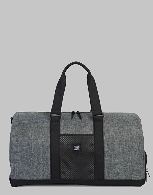Herschel Supply Co. Novel Duffel Bag - Raven Crosshatch Black  7a31f44954412