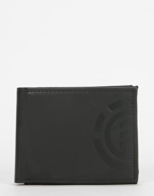 Element Daily Elite Leather Wallet - Flint Black
