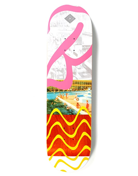 The National Skateboard Co. Butlins Swim Skateboard Deck - 8.375""
