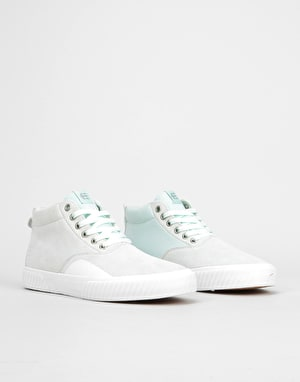 Etnies Jameson Vulc MT Skate Shoes - Green/White/Gum