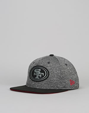 New Era 9Fifty San Francisco 49ers Grey Collection Snapback Cap - Grey