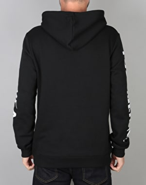 RVCA x Toy Machine Pullover Hoodie - Black