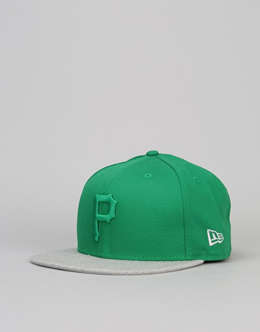 New Era 9Fifty Pittsburgh Pirates Pop Snapback Cap - Green/Heather