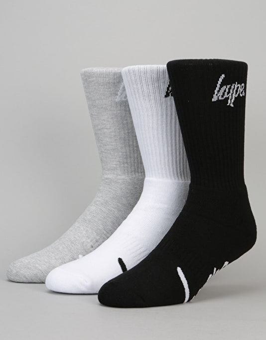 Hype Script Socks 3 Pack - Multi