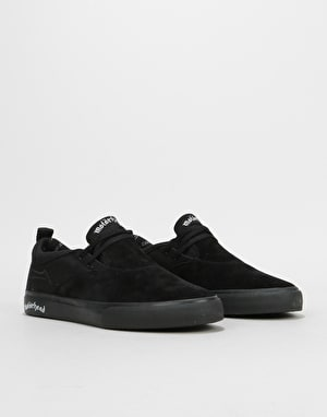 Lakai x Motorhead Riley 2 Skate Shoes - Black Suede