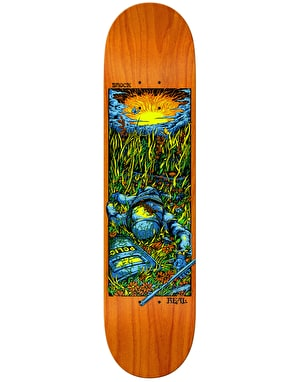 Real Brock Bright Future Skateboard Deck - 8.06