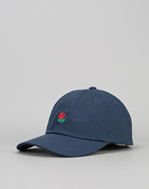 The Hundreds Rose Strapback Cap - Navy