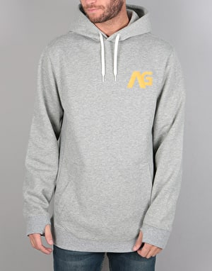 Analog Crux Pullover Hoodie - Grey Heather