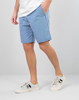 Levi's Skateboarding Easy Short  - Blue Seersucker Ripstop