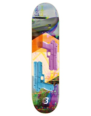 Colourblind Gunship Skateboard Deck - 8