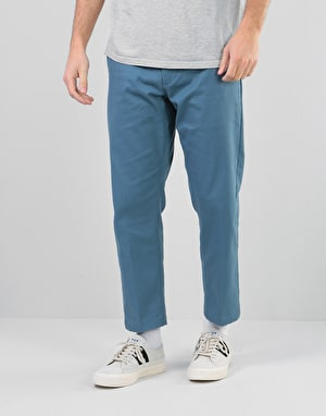 Obey Straggler Flooded Pant - Dull Blue