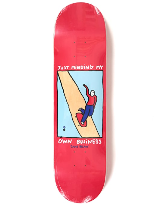 Polar Brady Just Minding My Own Business Skateboard Deck - 8.125""