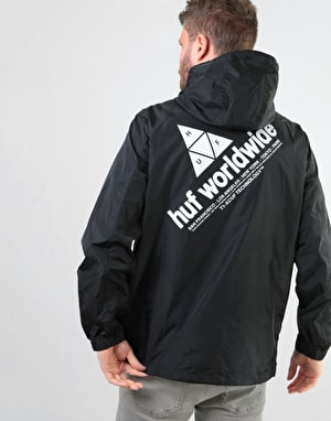 HUF Peak Anorak Jacket - Black