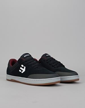 Etnies x Michelin Marana Skate Shoes - Navy/Grey/Red
